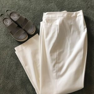 Vince Camuto Ivory Straight Leg Dress Pant 18W NNT